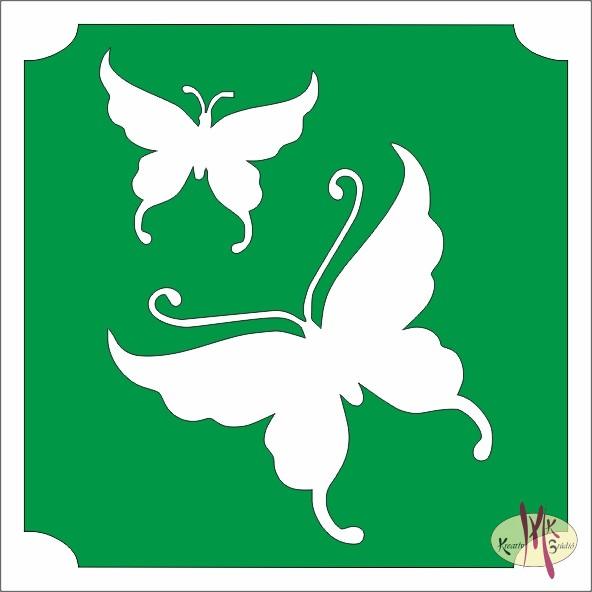 Csillám tetoválás sablon - Lepkék - Csillámtetoválás 01706cc9ee